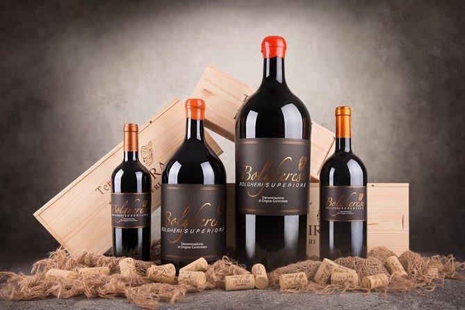 Visit with Bolgheri wine tasting