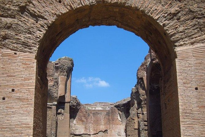 Exclusive Baths of Caracalla Private Tour