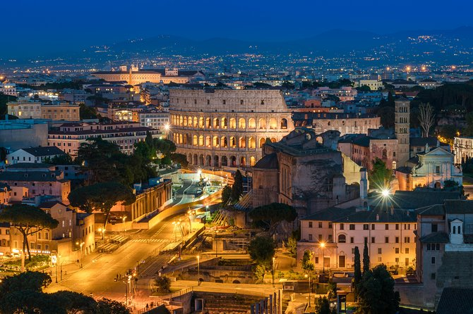 Best Of Rome with a Private Chauffeur - Evening Experience