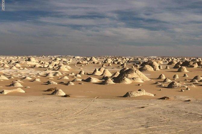 Egypt White desert safari (overnight from Cairo).