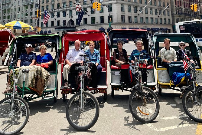 NYC Central Park Private Pedicab Sightseeing Tour, with Stops