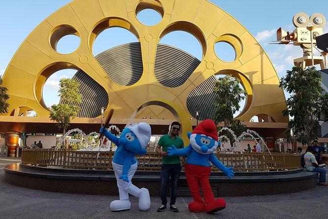 Dubai Parks And Resort 1 dag valfri 2 Parker Entrébiljett