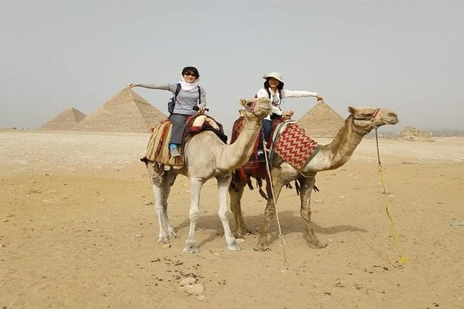Tour Giza Pyramids Sphinx Memphis and Saqqara and Camel