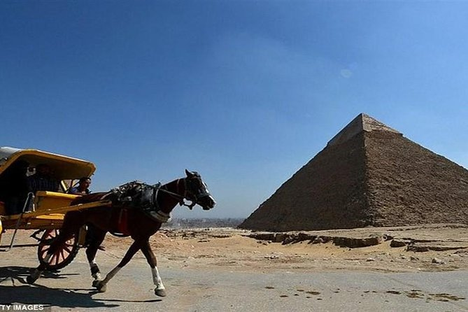 Day Tour:Giza Pyramids Sphinx Memphis and Saqqara