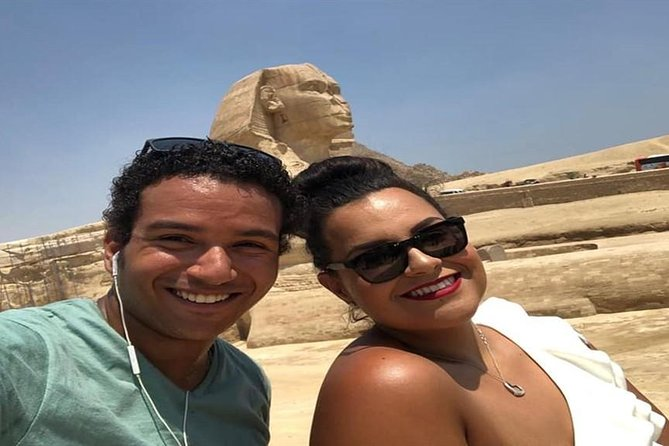 Day Tour Giza Pyramids Sphinx Memphis and Saqqara and Camel Ride