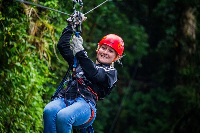 100% Adventure Park Combo: Zipline, Superman, and Mega Tarzan Tour in Monteverde photo 7