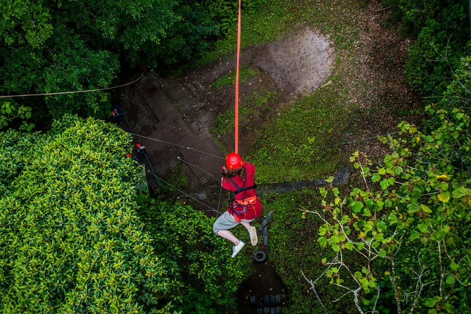 100% Adventure Park Combo: Zipline, Superman, and Mega Tarzan Tour in Monteverde photo 4