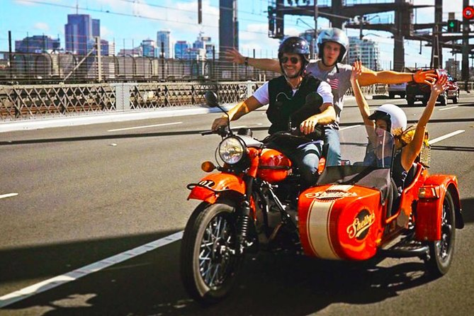 Best of Sydney 2 Hour Sidecar Tour