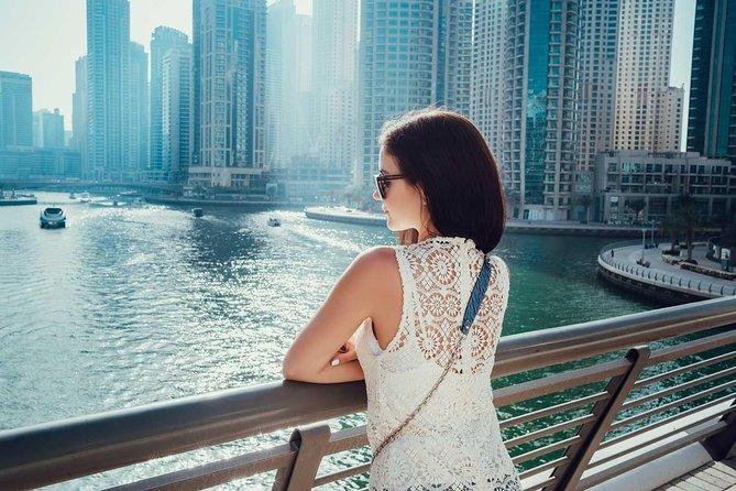 Abu Dhabi 2020: Excursão privada ao Dubai com Burj Khalifa 124 e cruzeiro com jantar na Marina