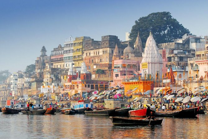 Afternoon tour of Varanasi with Evening Boat ride & Dinner