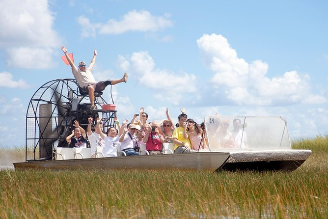 Do the Everglades Tour from Miami in the Morning in a Luxury Bus