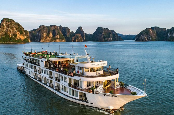 Halong Bay 2 Days 1 Night - Dynasty Cruise Luxury 5 Star Cruise