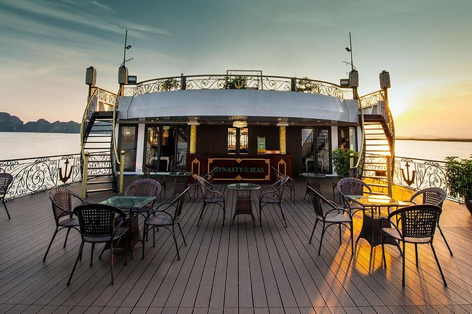 Dynasty Halong Luxury Cruise (5 star-Bai tu long bay and Halong bay) photo 4