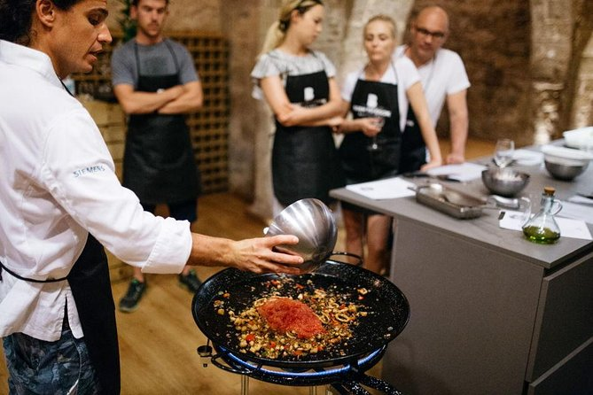 Barcelona Paella Cooking Class with a Professional Chef & Lunch