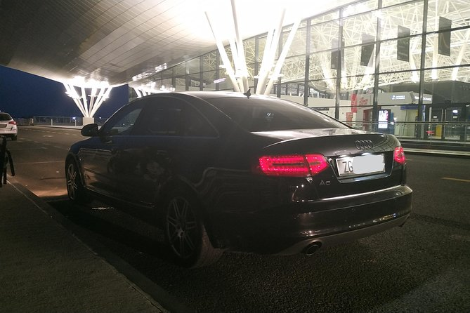 Departure Private Transfer from Zagreb City to Zagreb Airport ZAG - Luxury Car