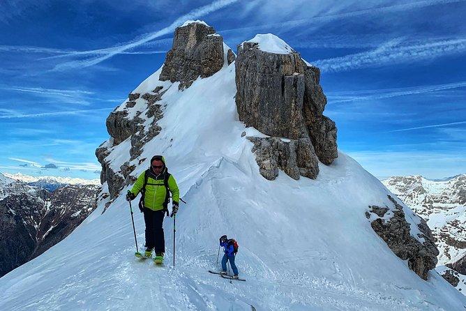 Ski Touring On Uršiči Saddle