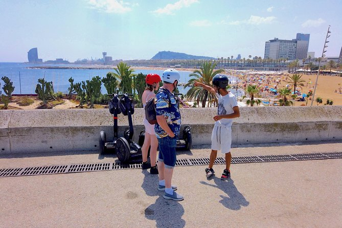 Live-Guided Barcelona Segway Tour in a mini-group