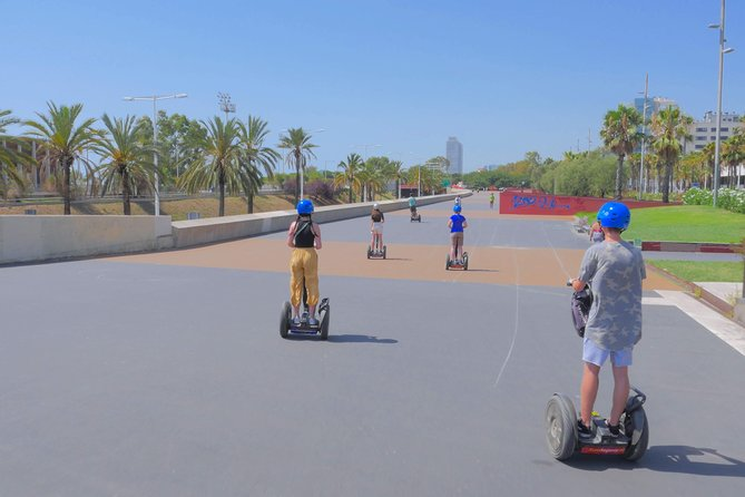 Live-Guided Barcelona Segway Tour