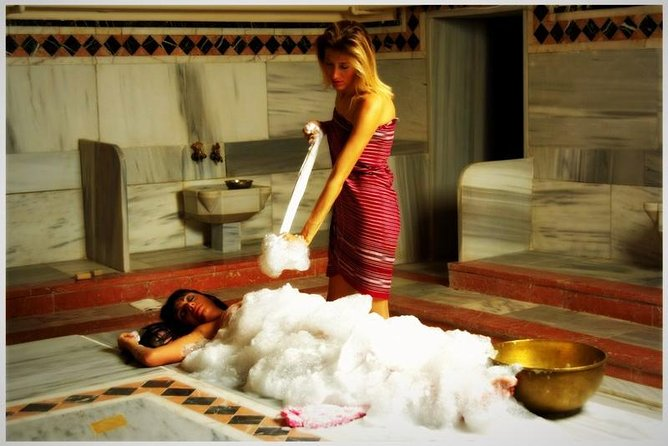 Hammam+ Massage+ Foam Bath (Traditional Turkish Bath Experience)