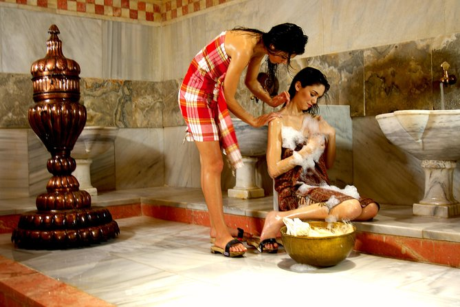 Hammam+Scrub+Foam Bath - (Traditional Turkish Bath Experience)