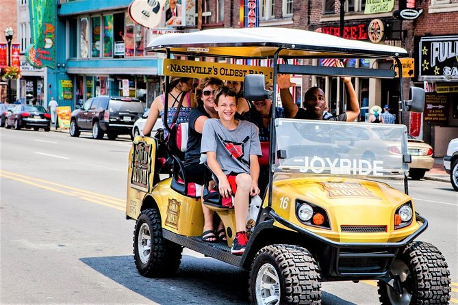 Explore the City of Nashville Tour by Golf Cart photo 1