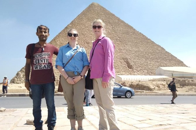 Pyramids of Giza and Great Sphinx Half-Day Tour