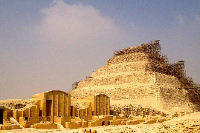 Cairo Layover Tours to Giza Pyramids and Saqqara