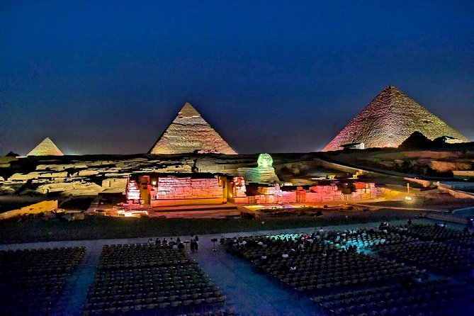Private Tour: Sound and Light Show at the Pyramids of Giza from Cairo