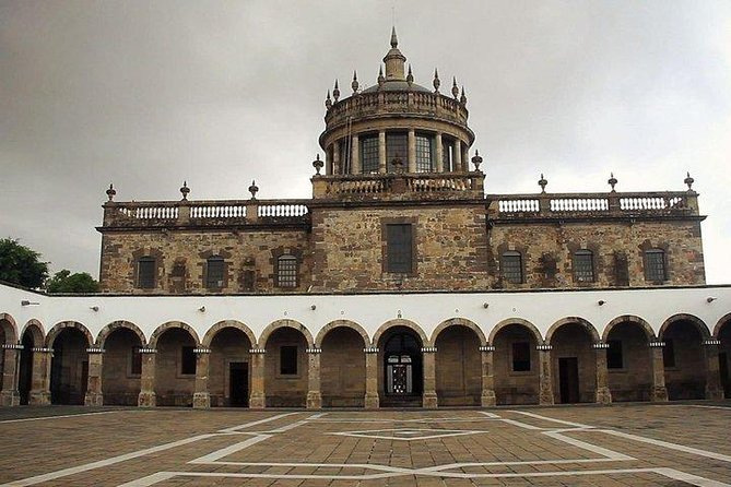Without Rows: Entrance to the Cabañas Cultural Institute