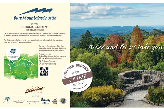 Blue Mountains Botanic Garden and Bilpin Day Tour departing from Katoomba