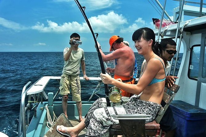 Phuket Racha Yai Island Big Game Fishing Trip
