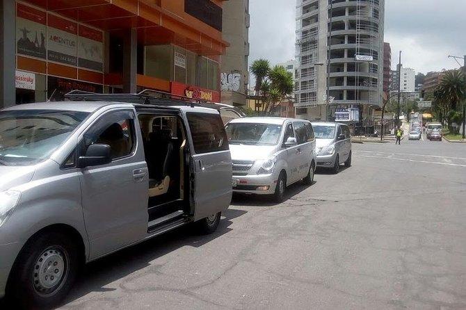 Transporte Mindo a Quito