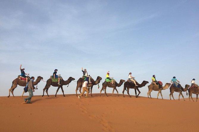 3 days trek in the Moroccan desert