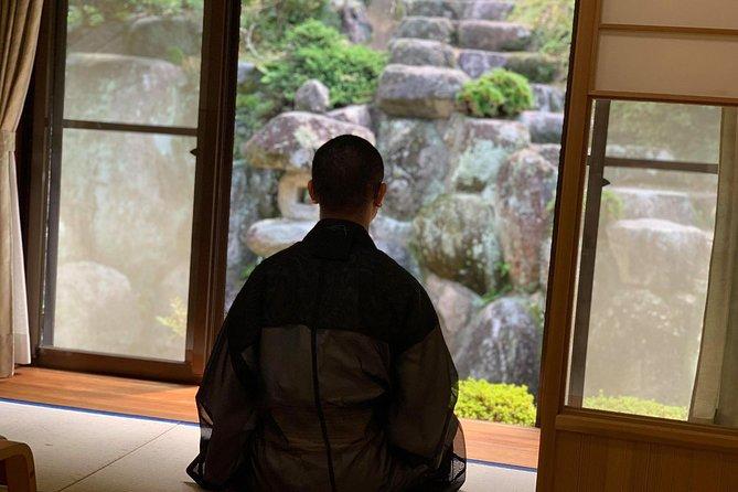 Experience Zazen at Zen Temple in Japan