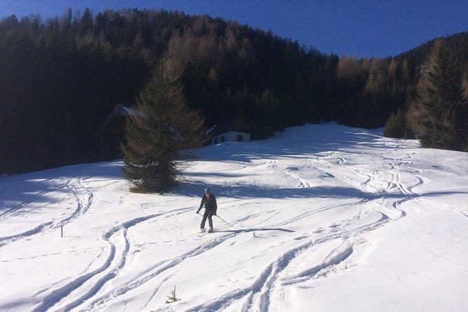 Ski Touring On Lepi Vršič