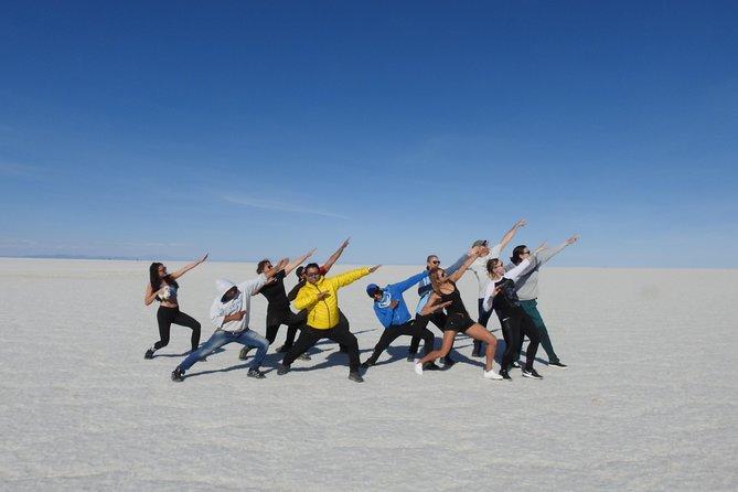 Salar de Uyuni + estrada da morte / excursão de 3 dias saindo da cidade de La Paz