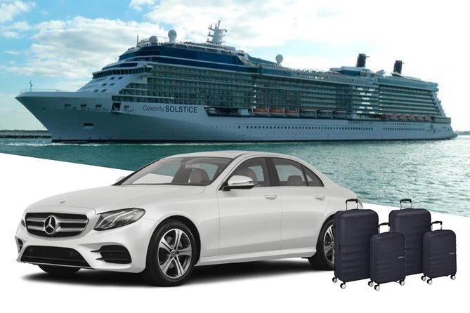 Southampton Cruise Terminals to Heathrow Airport Private Sedan Arrival Transfer