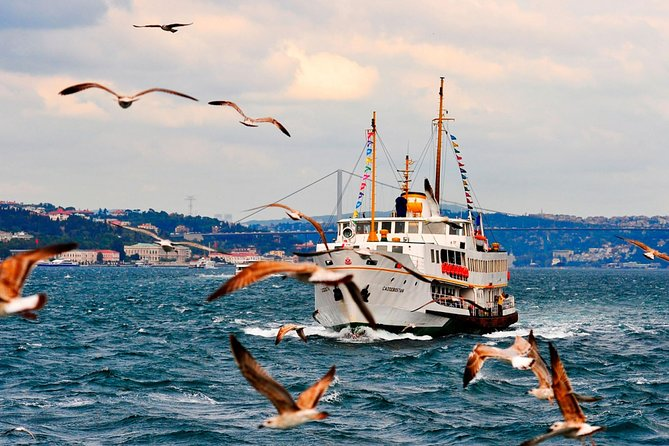 Bosphorus and Black Sea Tour with Open Buffet Lunch