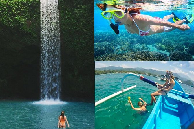All Inclusive : Tibumana Waterfall with Snorkelling Blue Lagoon with Lunch