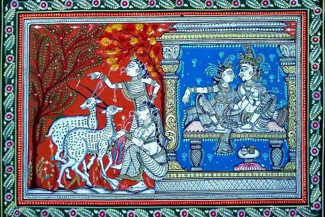 Pattachitra Workshop at Raghurajpur - World Famous Crafts Village