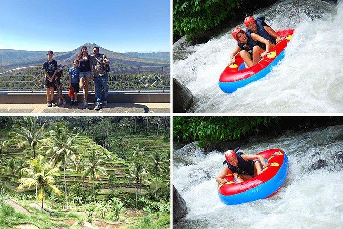 Bali River Tubing and Kintamani Volcano Tour