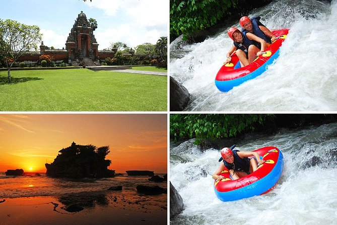 Bali River Tubing and Tanah Lot Sunset Tour