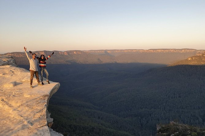 Sunrise with an Amazing View (Lincoln Rock & Wentworth Falls Lake)