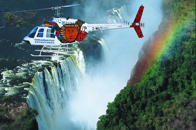 Victoria Falls Flight of the Angels Helicopter Flight