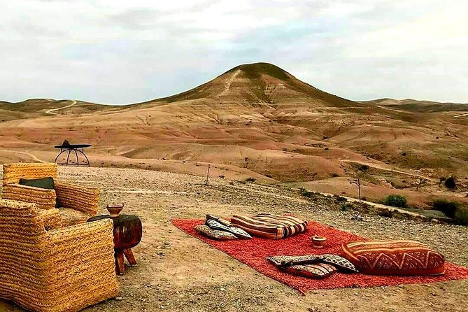 Agafay desert and Atlas Mountains day trip : Virgin trails & Camel Ride