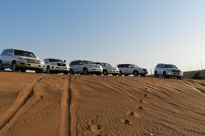 Morning Red Dunes Desert Safari With Quad bike And Sand Boarding