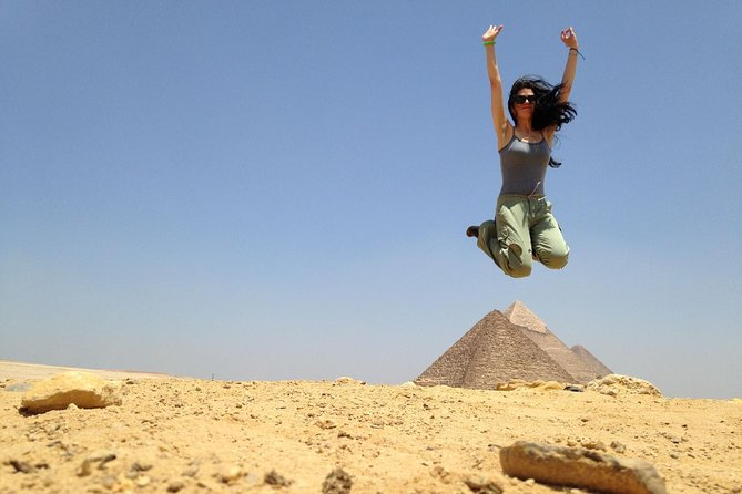 Sightseeing Day Tour to Pyramids, Egyptian Museum and Bazaar from Giza or Cairo photo 7