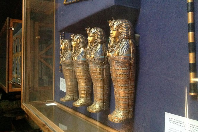 Sightseeing Day Tour to Pyramids, Egyptian Museum and Bazaar from Giza or Cairo photo 23