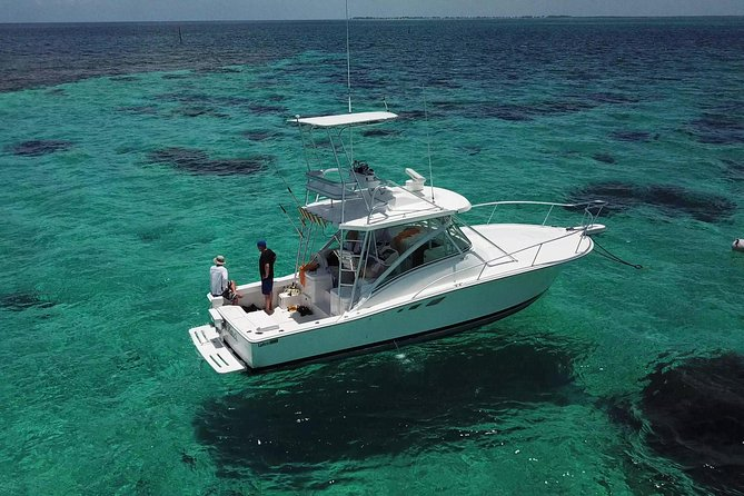 Private Charter 32ft Express Cruiser. Stingay City, Coral Reef Snorkeling