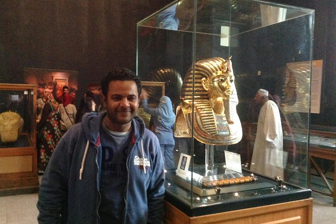 Sightseeing Day Tour to Pyramids, Egyptian Museum and Bazaar from Giza or Cairo photo 22